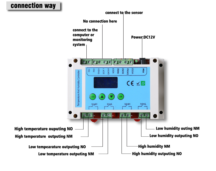 Temperature&humidity controller