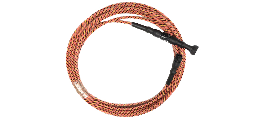 acid sense cables for detecting leakage